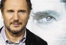 """<p>Liam Neeson na estreia de """"Desconhecido"""" em Los Angeles. 16/02/2011 REUTERS/Mario Anzuoni</p>"""
