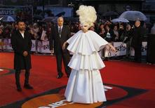 <p>Lady Gaga arrives at the 30th Brit Awards ceremony at Earl's Court in London, February 16, 2010. REUTERS/Luke Macgregor</p>