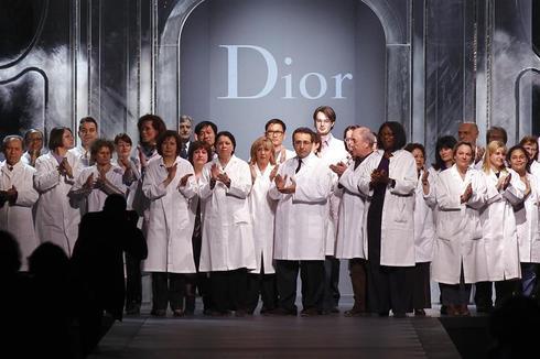Galliano's last Dior show