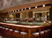 <p>The bar at the restaurant Michael Mina in San Francisco is shown in this undated handout photo. REUTERS/Handout</p>