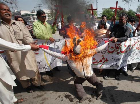 Rage over Koran burning