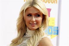 <p>Foto de archivo de Paris Hilton durante la entrega de premios Nickelodeon Kids en Los Angele, abr 2 2011. Hilton tiene joyas valuadas en 60.000 dólares que no le pertenecen y debe devolverlas, asegura una nueva demanda en su contra. REUTERS/Fred Prouser</p>