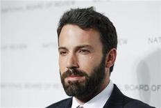 """<p>Ben Affleck of the film """"The Town"""" arrives for the National Board of Review of Motion Pictures Awards Gala in New York January 11, 2011. REUTERS/Lucas Jackson</p>"""