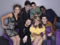 "<p>The ""American Idol"" Final 7. Clockwise from left: Haley Reinhart, James Durbin, Stefano Langone, Jacob Lusk, Scotty McCreery, Lauren Alaina and Casey Abrams. REUTERS/Michael Becker/FOX</p>"