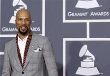 <p>Rapper Common arrives at the 52nd annual Grammy Awards in Los Angeles, January 31, 2010. REUTERS/Mario Anzuoni</p>