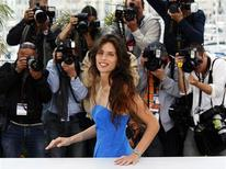 """<p>Director and actress Maiwenn poses during a photocall for the film """"Polisse"""" at the 64th Cannes Film Festival May 13, 2011. REUTERS/Yves Herman</p>"""