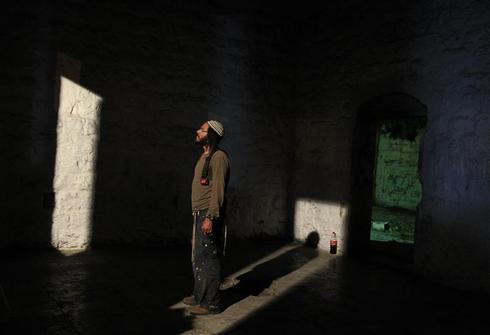 Prayers at Joseph's Tomb