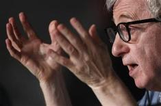 """<p>Director Woody Allen attends a news conference for his film """"Midnight In Paris"""" at the 64th Cannes Film Festival May 11, 2011. The Cannes film festival runs from May 11 to 22. REUTERS/Jean-Paul Pelissier</p>"""