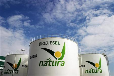 The biodiesel plant owned by Spanish energy group Natura in Ocana, central Spain, March 26, 2007. REUTERS/Susana Vera