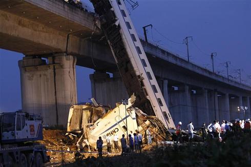 Train crash in China