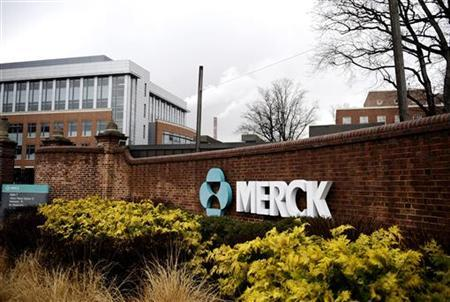 A view of the Merck & Co. campus in Linden, New Jersey March 9, 2009, after Merck & Co Inc said it would acquire Schering-Plough Corp in $41.1 billion deal, widening Merck's pipeline and diversifying its portfolio of medicines. ÊREUTERS/Jeff Zelevansky