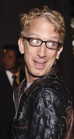 Comedian Andy Dick arrives for a film premiere in Hollywood October 23, 2006. Dick pleaded not guilty on July 29, 2011 to charges of him sexually abusing a security guard and another man at a West Virginia bar by grabbing their crotches. REUTERS/Phil McCarten/Files