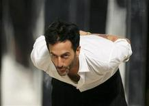 <p>Designer Marc Jacobs takes a bow during New York Fashion Week in a file photo. REUTERS/Lucas Jackson</p>