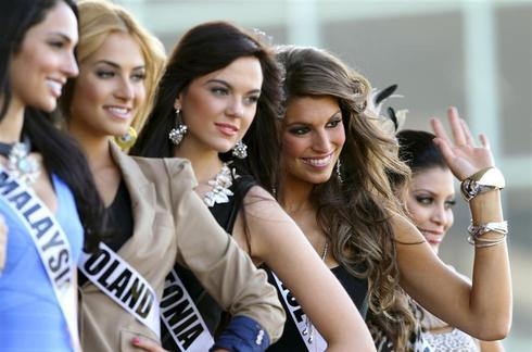 Vying for Miss Universe crown
