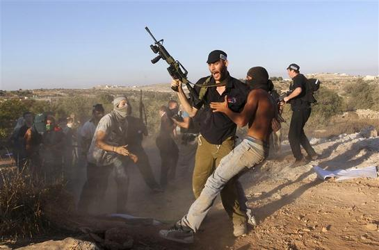 """an analysis of violence in many jews and palistinian The history of the palestinian-israeli conflict has a convenient elasticity it changes dramatically jews described the violence as a """"pogrom"""" or."""
