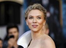 """<p>Scarlett Johansson at the premiere of """"Iron Man 2"""" in Hollywood, April 26, 2010. REUTERS/Mario Anzuoni</p>"""