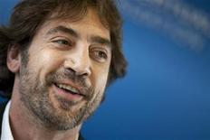 <p>Spanish actor Javier Bardem attends a news conference to discuss the evolution of the film industry in the digital environment and address the challenges of copyright at the World Intellectual Property Organization (WIPO) headquarters in Geneva July 19, 2011. REUTERS/Valentin Flauraud</p>