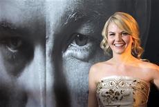"<p>Cast member Jennifer Morrison arrives at the film premiere of ""Warrior"" in Hollywood, California, September 6, 2011. REUTERS/Jason Redmond</p>"