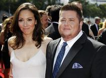<p>Chaz Bono (R) and Jennifer Elia arrive at the 2011 Primetime Creative Arts Emmy Awards in Los Angeles September 10, 2011. REUTERS/Danny Moloshok</p>