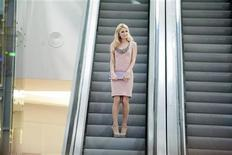 <p>Paris Hilton arrives at the opening ceremony of a shopping centre in Katowice, southern Poland October 12, 2011. REUTERS/Bartlomiej Barczyk/Agencja Gazeta</p>