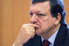<p>European Commission President Jose Manuel Barroso takes part in the European Parliament's Conference of Presidents of political parties in Brussels November 10, 2011. REUTERS/Francois Lenoir</p>