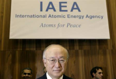 International Atomic Energy Agency (IAEA) Director General Yukiya Amano attends a board of governors meeting at the UN headquarters in Vienna November 17, 2011. REUTERS/Herwig Prammer