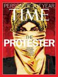 "<p>In this undated publicity photograph released to Reuters December 14, 2011, ""The Protestor"" was named 'Time' magazine's Person of the Year. REUTERS/Courtesy Time Magazine/Handout</p>"