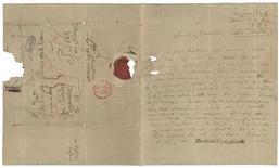 <p>Imagen de una rara carta manuscrita del compositor alemán Ludwig van Beethoven fechada en 1823 en exhibición en el Instituto Brahms en Luebeck, Alemania, dic 30 2011. Una rara carta manuscrita del compositor alemán Ludwig van Beethoven en la que se queja sobre su salud y la falta de dinero apareció en un instituto del norte del país como parte de un legado, causando entusiasmo entre los aficionados del genio musical. REUTERS/Mathias Broesicke/Dematon Luebeck SOLO PARA USO EDITORIAL</p>