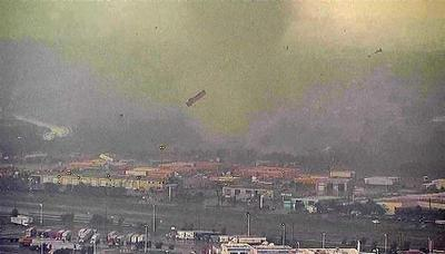 Tornado's fury in Texas