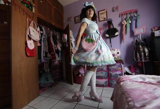 mexican lolita. Black Bedroom Furniture Sets. Home Design Ideas