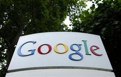 <p>Google va racheter Meebo, une société qui fournit des logiciels permettant aux éditeurs en ligne et aux annonceurs de mettre en avant leurs sites web ou leurs produits sur les sites de réseaux sociaux, comme Facebook. /Photo d'archives/REUTERS</p>