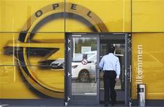 <p>Opel, la filiale européenne déficitaire de General Motors, est sortie de la plus mauvaise phase de ventes en Allemagne de son histoire et compte augmenter progressivement sa part de marché à plus de 10% dans ce pays pour retrouver ainsi ses niveaux de 2005. /Photo d'archives/REUTERS/Alex Domanski</p>