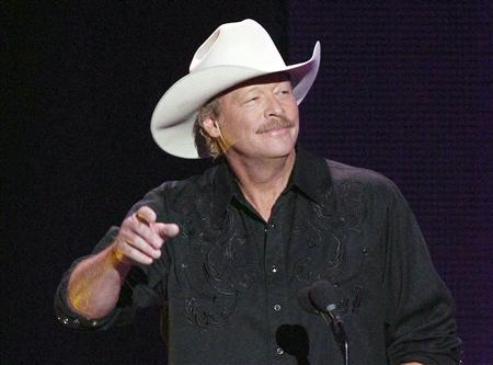 Singer Alan Jackson appears onstage at the 2012 CMT Music Awards in Nashville, Tennessee, in this June 6, 2012 file photo. REUTERS/Harrison McClary/Files