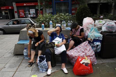 Homeless in Spain