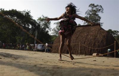Rio+20 indigenous village