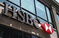 <p>Des responsables de la banque britannique HSBC sont venus faire acte de contrition mardi devant une commission du Sénat américain après la publication d'un rapport l'accusant d'avoir facilité le blanchiment de capitaux. /Photo d'archives/REUTERS/Shannon Stapleton</p>