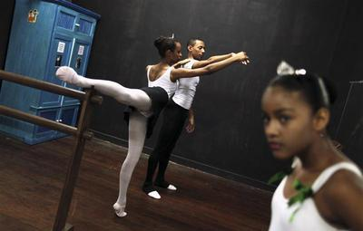 Ballet for troubled youth