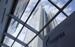 <p>Gazprom a annoncé jeudi que sa participation dans le projet gazier Shtokman allait monter à 75% après la décision du norvégien Statoil, qui en détenait 24%, de se retirer. /Photo prise le 29 juin 2012/REUTERS/Maxim Shemetov</p>