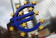 <p>La Banque centrale européenne n'a pas modifié jeudi ses taux directeurs, une décision qui n'était pas forcément acquise pour les marchés. /Photo d'archives/REUTERS/Lmar Niazman (GERMANY - Tags: BUSINESS)</p>