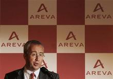 <p>Une sortie complète du nucléaire au Japon aura un impact très important sur le marché mondial de l'énergie, a déclaré Luc Oursel, le président du directoire d'Areva. /Photo d'archives/REUTERS/Yuriko Nakao</p>
