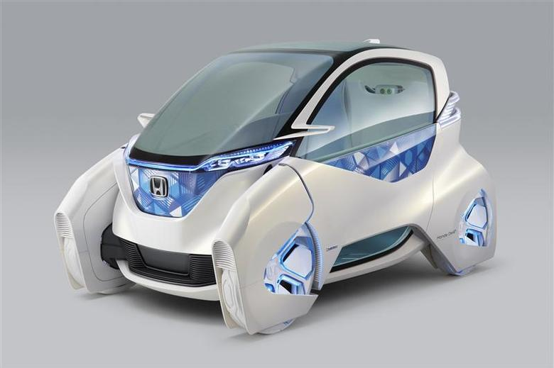 P Honda Motor Co S Electric Micro Commuter Concept City Vehicle In An Image Released
