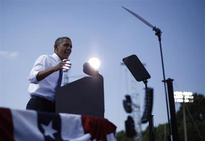 Obama: On the trail