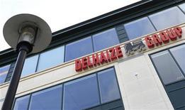 <p>Le distributeur belge Delhaize a fait état mercredi de résultats du troisième trimestre supérieurs aux attentes, grâce à une diminution des bonus versés aux Etats-Unis et des réductions de coûts. L'annonce a fait bondir l'action du groupe à la Bourse de Bruxelles. /Photo d'archives/REUTERS/Yves Herman</p>
