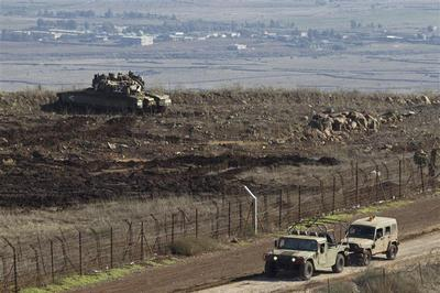 Tense watch over Golan Heights