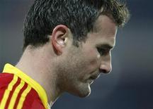 <p>Meilleur buteur de l'histoire du football suisse, l'attaquant du FC Bâle Alexander Frei a annoncé qu'il prendrait sa retraite à la fin de la saison. /Photo prise le 8 novembre 2012/REUTERS/Arnd Wiegmann</p>