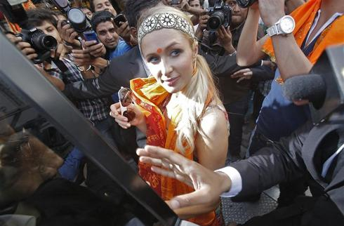 Paris Hilton in India