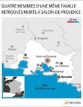 <p>QUATRE MEMBRES D'UNE MÊME FAMILLE RETROUVÉS MORTS À SALON-DE-PROVENCE</p>