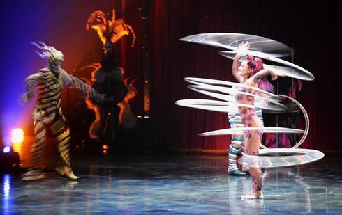 Cirque Du Soleil showcase