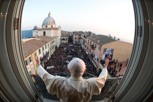 Pope Benedict's farewell