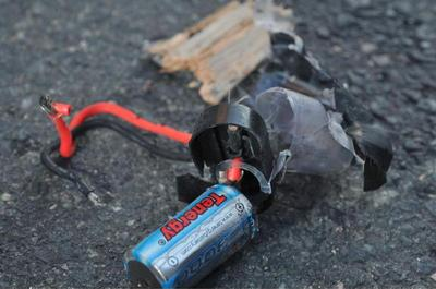 Boston bomb revealed